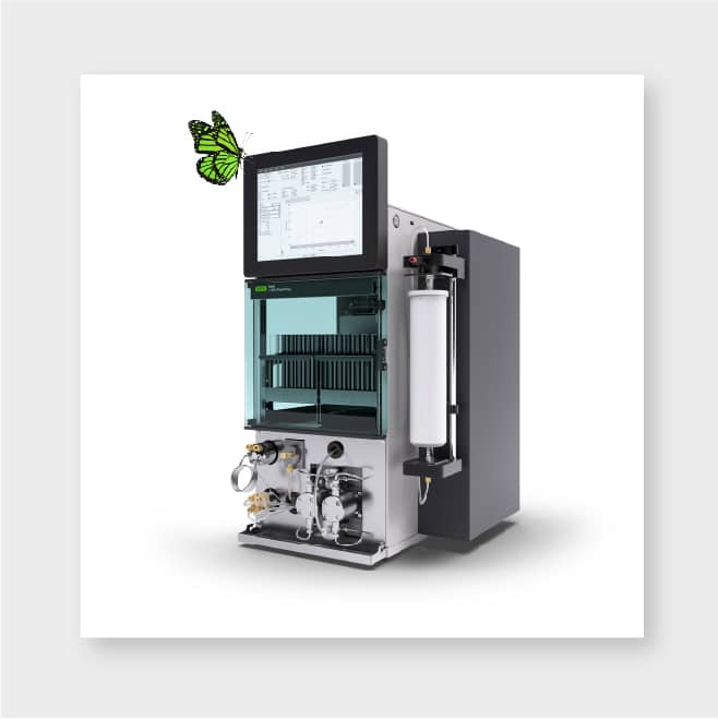 green chromatography, new chromatography instrument, chromatography system, HPLC, flash chromatography, preparative chromatography