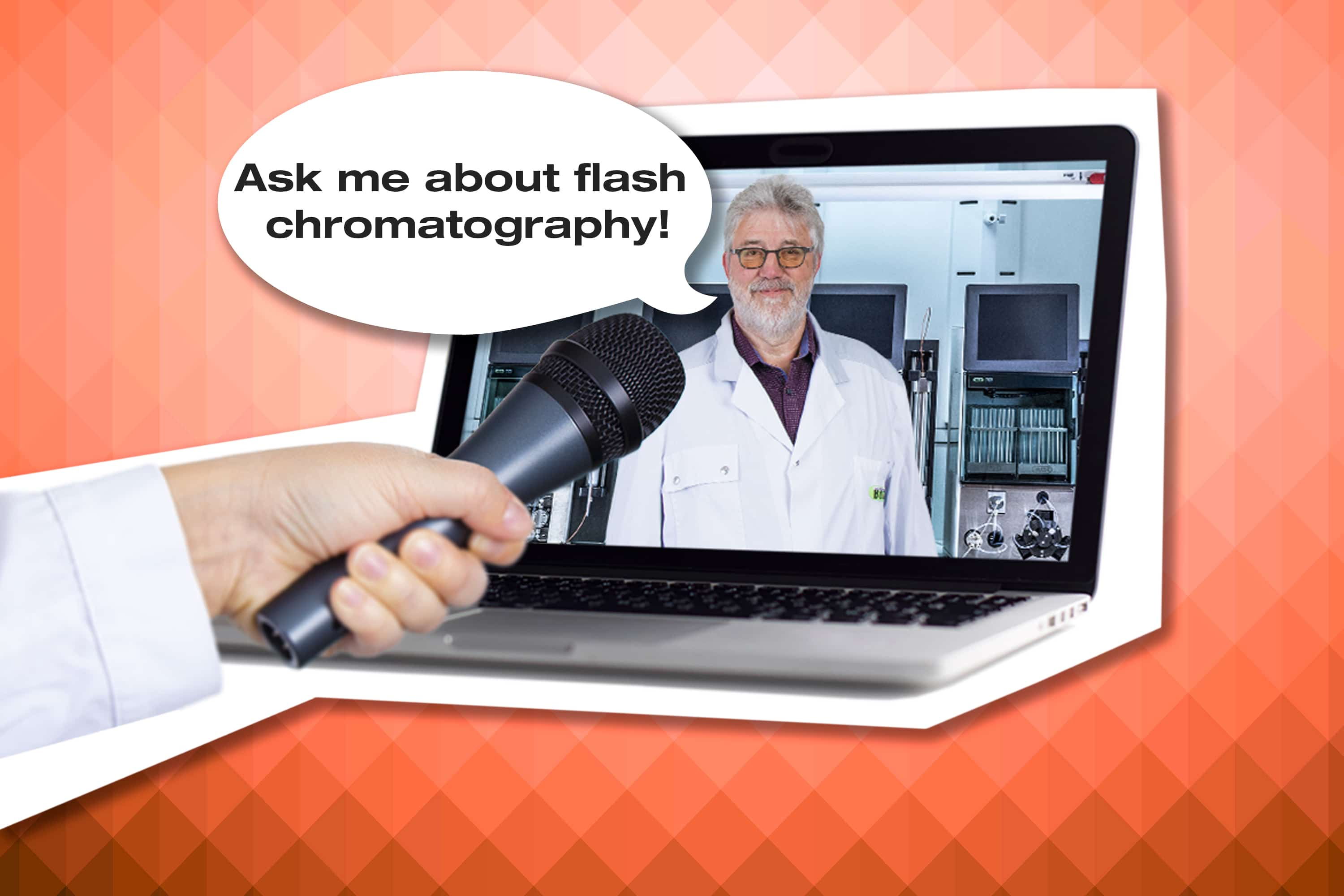chromatography webinar, preparative chromatography, flash chromatography, chromatography questions