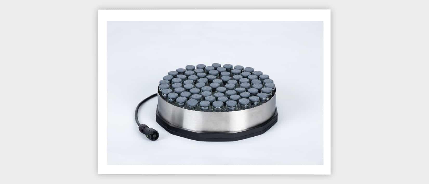 ferrule, metallic ring, edge vial, edge vial effect, freeze drying, lyophilization, freeze dryer